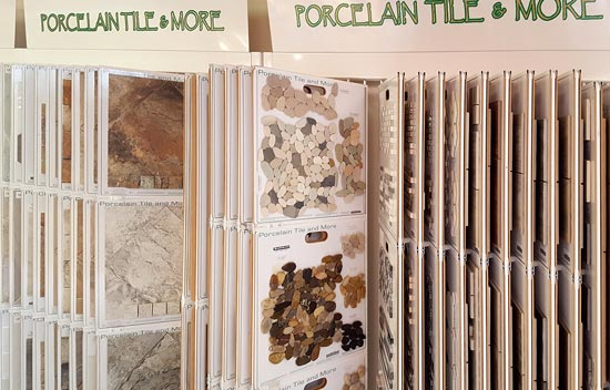 vast collection of tile flooring